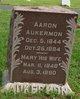 Profile photo:  Aaron Aukerman