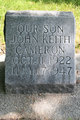 Profile photo:  John Keith Cameron