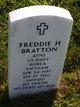 "Freddie Hopkins ""Hondo"" Bratton"