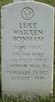 Luke Warren Bonham
