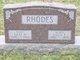 Lucy E. <I>Knotts</I> Rhodes