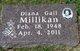 Diana Gail Millikan