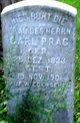 Profile photo:  Henrietta Dorothea Marie <I>Martin</I> Prag