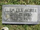 Ella Lee Acree