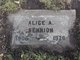 Profile photo:  Alice <I>Adams</I> Bennion