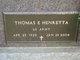 Thomas E Henretta