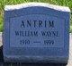 Profile photo:  William Wayne Antrim