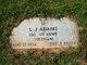 """Luther John """"L.J."""" Adams"""
