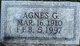 Profile photo:  Agnes <I>Good</I> Berkheimer