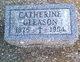 Catherine <I>Carr</I> Gleason