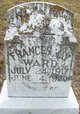 Profile photo:  Frances May Ward