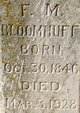 Frank M. Bloomhuff