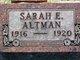 Profile photo:  Sarah Elizabeth Altman
