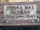 Profile photo:  Donna Mae Altman