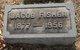 "Jacob William ""Jake"" Fisher"