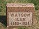 Watson J Iler