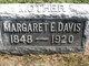 Margaret E. <I>Roberts</I> Davis