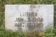 Profile photo:  Luther