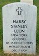 Profile photo:  Harry Stanley Leon