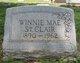 Winnie Mae <I>Womack</I> St. Clair