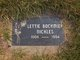 Lettie <I>Bockmier</I> Nickles