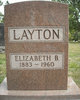 Elizabeth <I>Burns</I> Layton