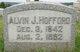 Profile photo:  Alvin J. Hufford