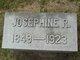 Josephine R <I>Reynolds</I> Griswold