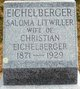 Saloma <I>Litwiller</I> Eichelberger