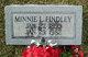 Minnie L Findley