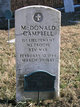 Lieut McDonald Campbell