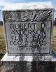 Profile photo:  Robert D. Anderson