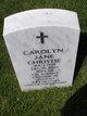 Profile photo:  Carolyn Jane <I>King</I> Christie
