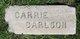 """Karin """"Carrie"""" <I>Johnsson</I> Carlsson"""
