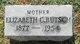 Elizabeth C <I>Aichle</I> Butsch