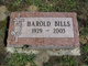 Profile photo:  Harold Bills