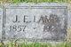 Joseph Edwin Lamb