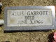 Profile photo:  Allie Garrott