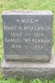 Profile photo:  Mary A <I>Songster</I> McKennan