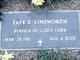 Faye E Ainsworth
