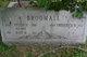 Profile photo:  Frederick W Broomall