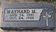 Maynard Melvin Aho