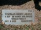 Sgt Thomas Kern Akers