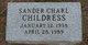 Sander Charl Childress