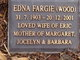 Edna Swallow <I>Wood</I> Fargie