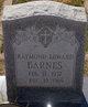 Raymond Edward Barnes