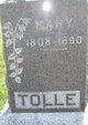 """Mary Brumboc """"Polly"""" <I>Rogers</I> Tolle"""