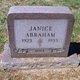 Janice Abraham