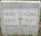 Mary Josephine <I>Kloster</I> Collins