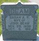 Sarah Ann Francis <I>Truax-Lomax</I> Beam